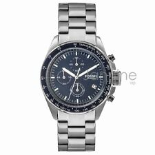 Fossil Authentic Watch Men's CH3030 Sport 54 Silver Stainless Steel 44mm Chrono