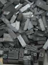 2,8 kg caractères en plomb lettres typographie imprimerie letterpress tampon
