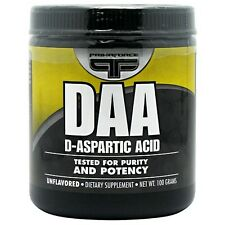 Primaforce DAA D-Aspartic Acid Natural Testosterone Booster Unflavored 100g