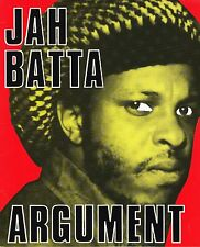 wackies LP : JAH BATTA-argument  (hear)     roots reggae