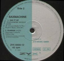 SAX MACHINE - Sax It Up - 1992 ZYX Music Germany - ZYX 6908-12