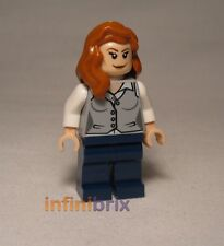 Lego Lois Lane from Set 76009 Superman Black Zero Escape Super Hereos NEW sh075