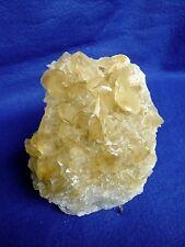 """Très belle Pièce de cristaux de Calcite couleur""""miel"""", cristaux  lenticulaires"""