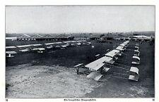 Westfront Französischer Flugplatz Kriegsflugzeuge Historische Aufnahme von 1916