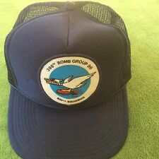 600th Squadron 398th Bomb Group (H)Cap Air Force Vintage SnapBack