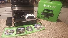 Microsoft Xbox One with Kinect 500 GB Black Console