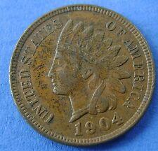 1904 USA America 1 Cent 1904 Indian Head - KM# 90a