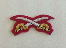 Red Army Physical Training Sleeve Badge, Mess Dress, APTC, Cross Swords, PTI