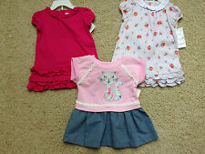 NWT LOT Ralph Lauren & Rare Editions Baby Girl 6 Months Dress & 2 Piece Outfits
