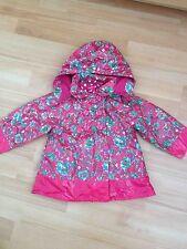 Bébé fille marese imperméable manteau, taille 12 mois-très bon état