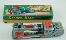 Daiya, Japan 1950's Golden Bear Express Train, Boxed Tinplate Friction Toy *MINT