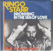 """45 T SP RINGO STARR """"DROWNING IN THE SEA OF LOVE"""""""