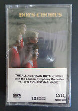 THE ALL-AMERICAN BOYS CHORUS Vintage SEALED Cassette A LITTLE CHRISTMAS MAGIC