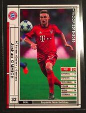 2015-16 Panini WCCF Joshua Kimmich Bayern Munich rookie card RC