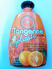 Tangerine Splash Indoor & Outdoor Tanning Lotion Exotic DHA Free Bronzing