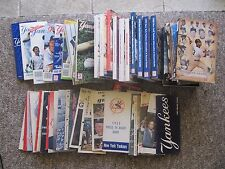 1955 to 2006 NY Yankees Media Guides. COMPLETE SET