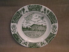 "1960's Alpine Alpa Cheese Wilmot Ohio Kettlesprings Kiln 10"" Commemorative Plate"