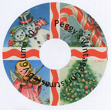 Vintage Christmas Greeting Cards CD V. 10