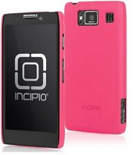 MOTOROLA DROID RAZR MAXX HD INCIPIO FEATHER CASE - NEON PINK - Protector