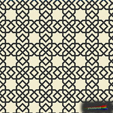 Moroccan #2 Stencil Template:   Scrapbooking, Airbrushing, Art:  ST21A6