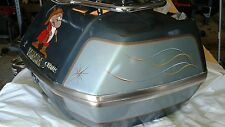 1984 Yamaha Venture 1200 trunk rear passenger with chrome luggage rack..excellen