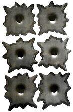 Sticker Set 6 Bullet Holes 3D Sticker 6 Einschuss Loch Aufkleber Gun Shots COOL