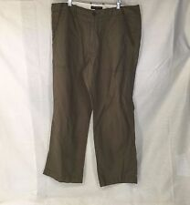 Mens BANANA REPUBLIC Green Cropped Pants Size 34