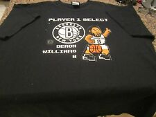 Brooklyn Nets Video Game T-Shirt - Black - 2XL - NBA - Deron Williams