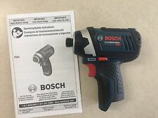 "New Bosch 12V Lithium Ion PS41B 1/4"" Hex Cordless Impact Driver PS41"