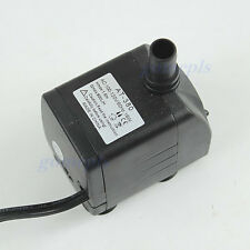 110V 16W 800L/H Submersible Fountain Air Fish Tank Aquarium Water Pump US Plug
