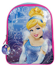 "Disney Princess Cinderella Kids School 15"" Book Backpack Bag NEW"