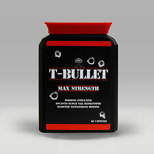 TESTOSTERONE BOOSTER GENUINE ORIGINAL T BULLETS EXTREME PRO ANABOLIC TEST BOOST