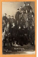 Real Photo Postcard RPPC Electricians & 1500 HP Generator Cornell WI Lewis Photo