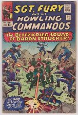 Sgt. Fury and His Howling Commandos #14 - Very Good Condition!