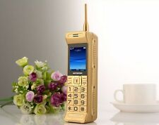 C3 Home gold brick Retro Unlocked mobile phone quad band dual sim card phone