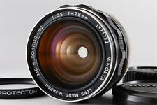 Excellent++  Minolta Mc W.Rokkor SG 28mm f3.5 with filter  From Japan #012