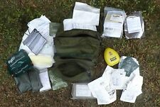 Army First Aid Case Medical, Instrument & Supply Set No. 3 w/ Supplies -Medic