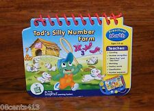 LeapFrog Tod's Silly Number Farm Game Book For My First LeapPad Learning System