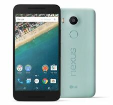 "LG Nexus 5X Ice Blue 5.2"" 16GB Memory 12MP Camera Unlocked S/R Original Box"