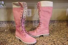 nwob Timberland Women's Pink 363358  Winter Boots Size 8.5M (bota1400