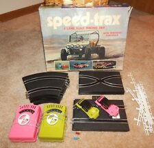 1968 Speed Trax DUNE BUGGY SLOT TRACK (Made in Hong Kong) ~ VINTAGE