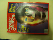 Popular Science Mag, Jan '82, Catalytic wood stoves, chips that see, GM for '82