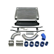 CXRacing Bolt-on FM INTERCOOLER KIT+ Shroud For 07-10 BMW E90 E92 TURBO 335i