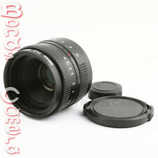 New 35mm f/1.6 C mount CCTV Lens for APS-C sensor Sony NEX-7 5T 6 3N A6000 A5100