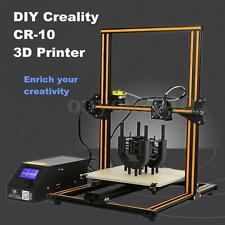 2016 CR-10 3D Printer 300*300*400mm Printing Size 1.75mm 0.4mm Nozzle DIY KIT