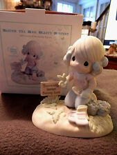 "PRECIOUS MOMENTS MEMBERSHIP FIGURINE  "" GARDEN TILL YOUR HEARTS CONTENT """