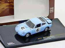Abarth Simca 1300 N° 41 R. Lange Neste, J. Rolland 24h LeMans 1962 1:43 Ixo