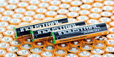 100 BATTERIES DURACELL INDUSTRIAL AA LR6 LR6 E91 MN1500 AM3 UM3 BATTERY