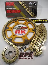 2014-2017 Yamaha FZ-09 RK GXW Gold 520 SuperSprox OEM Chain and Sprocket Kit