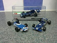 1:43 Jackie Stewart Formula 1 world champ car collection 1969, 1971, 1973 Matra